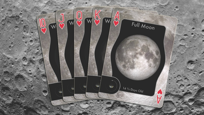 Moon Phase Playing Cards by Jonathan Poppele — Kickstarter