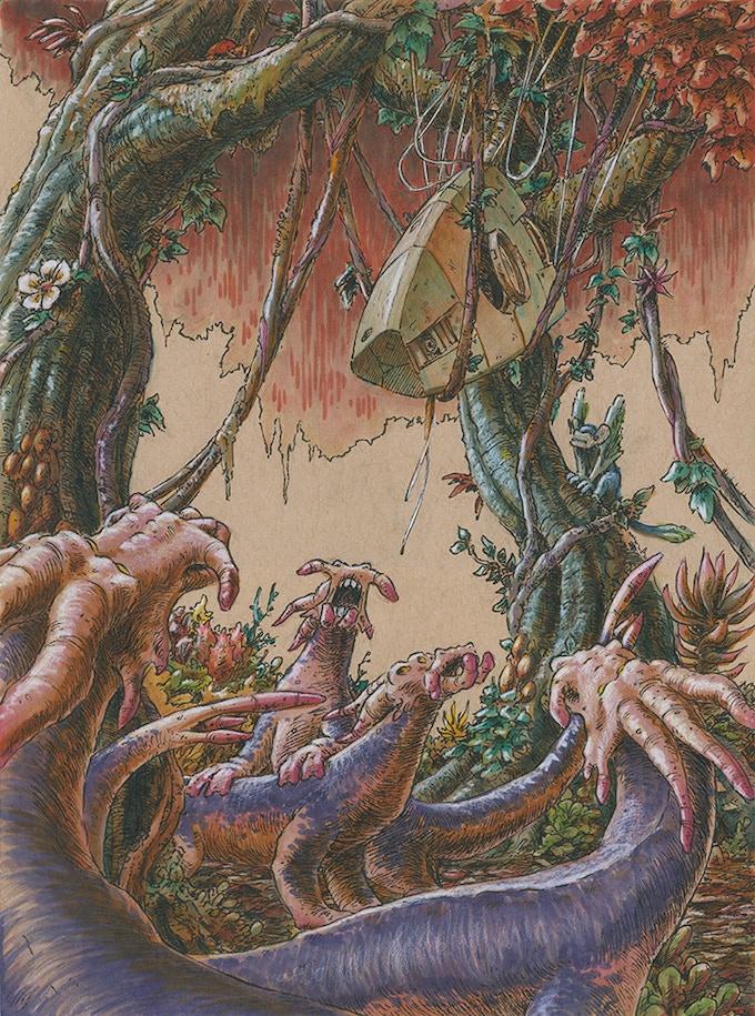 An illustration by Jerel Dye.