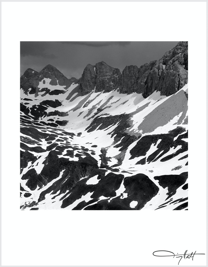 Cow Mountain  - paper size 25x32cm  - edition of 50