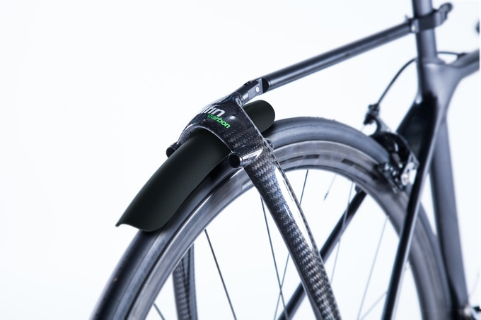 Clip on mudguard