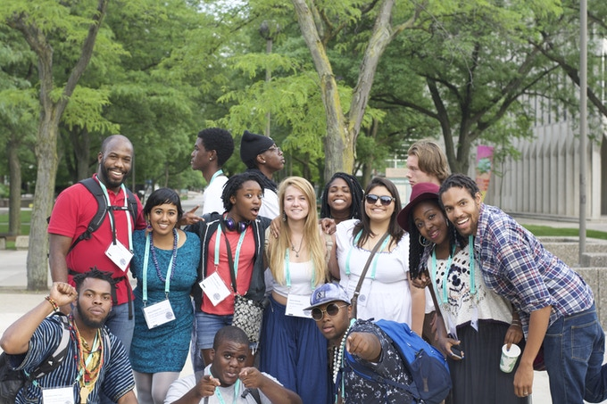 Field trip to Detroit for the Allied Media Conference - a gathering for media based organizing (June 2015)