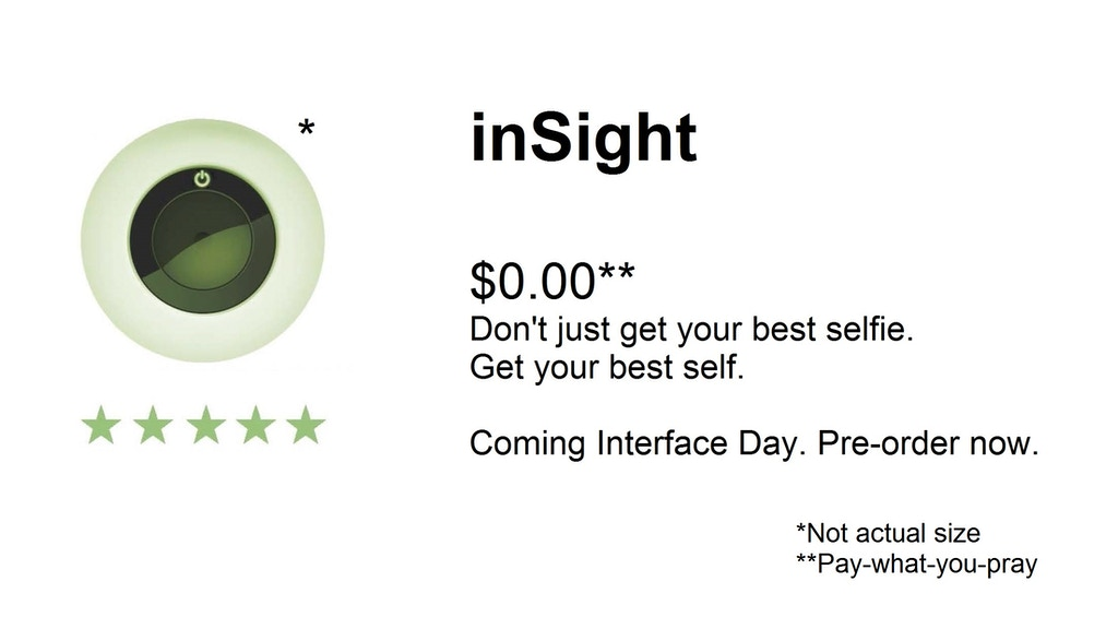 Interface: inSight project video thumbnail