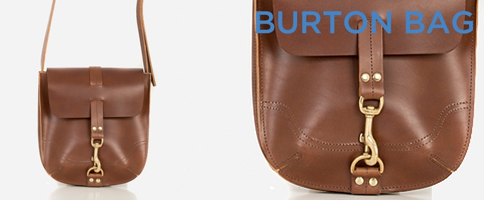 Burton Bag: named after the architect Decimus Burton who created the Regency resort St Leonards on Sea, back in the 1820s.