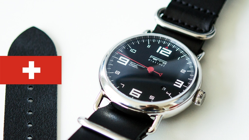 Ferro Watch - A Timepiece inspired by Porsche Tachometers. project video thumbnail