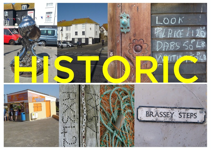 Deep-rooted in History, its neighbour Hastings merges into St Leonards where the newly restored pier meets the prom.