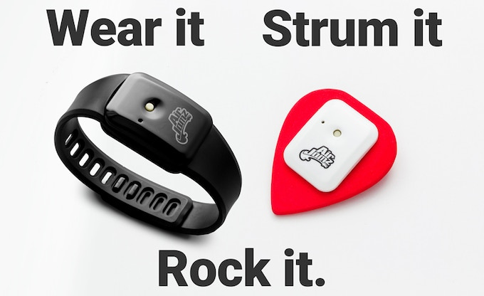 A whole new way to play! Every AirJamz backed includes a Pick accessory and Wristband.