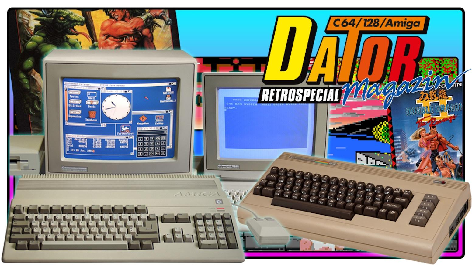 Gänget bakom Datormagazin återvänder till begynnelsen och gör en retrotidning om Commodore, Amiga, emulatorer och mycket mer.