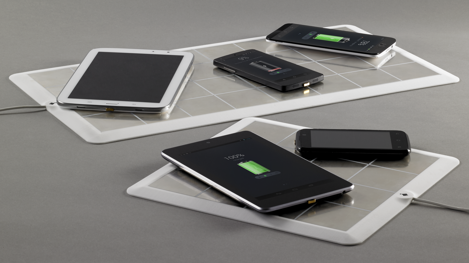 Energysquare is a new generation of wireless chargers - charge all your devices on an ultra-thin pad with no induction!
