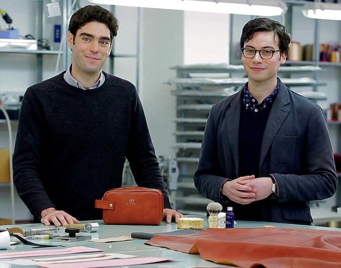 Matt and Antonio, founders of Thomas Clipper.