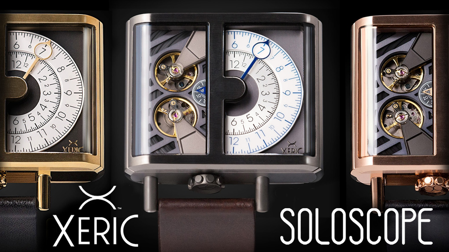 The latest & boldest design from XERIC, maker of unusual & affordable mechanical watches.
