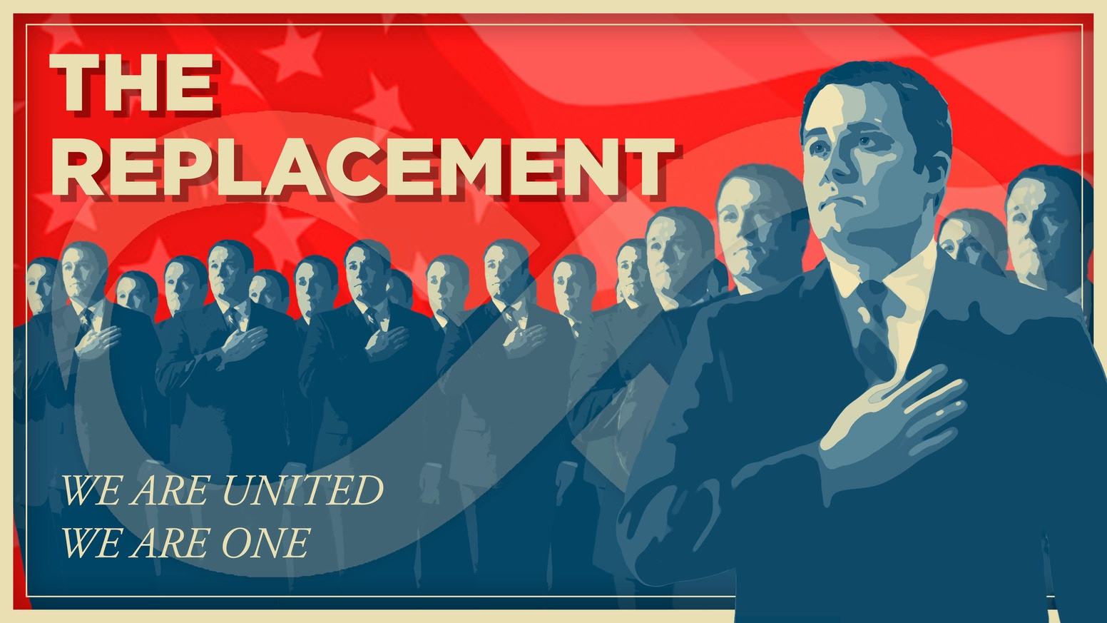 A dark comedy about the first clone President and his resentful 'original' who sees his life stolen by his many copies.