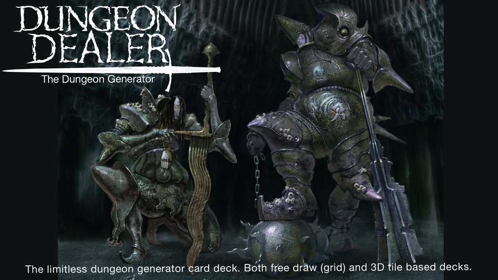 Dungeon Dealer project video thumbnail