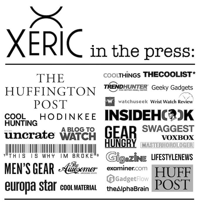 XERIC in the PRESS