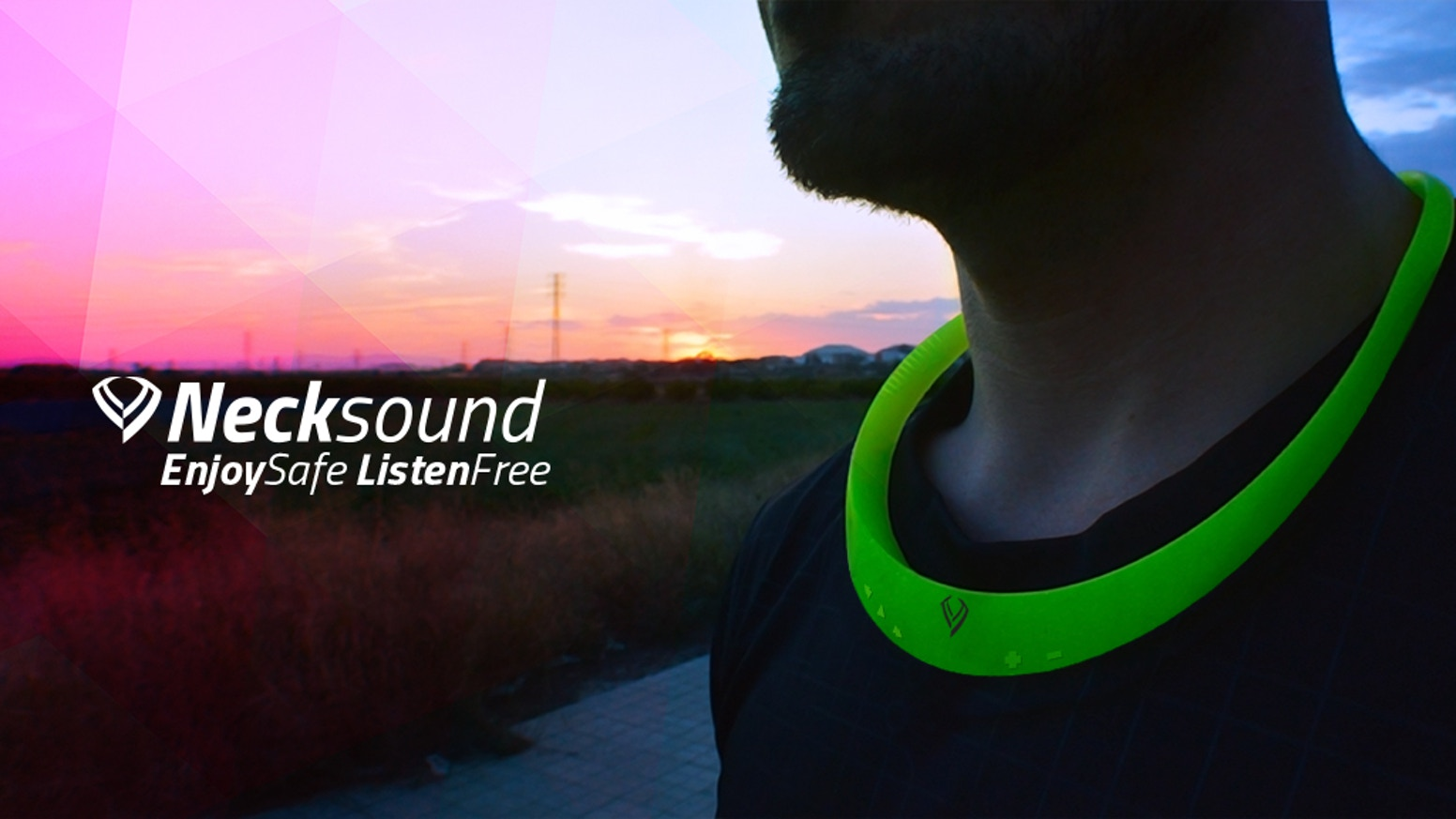 Necksound: Smart wireless necklace wearable music device by