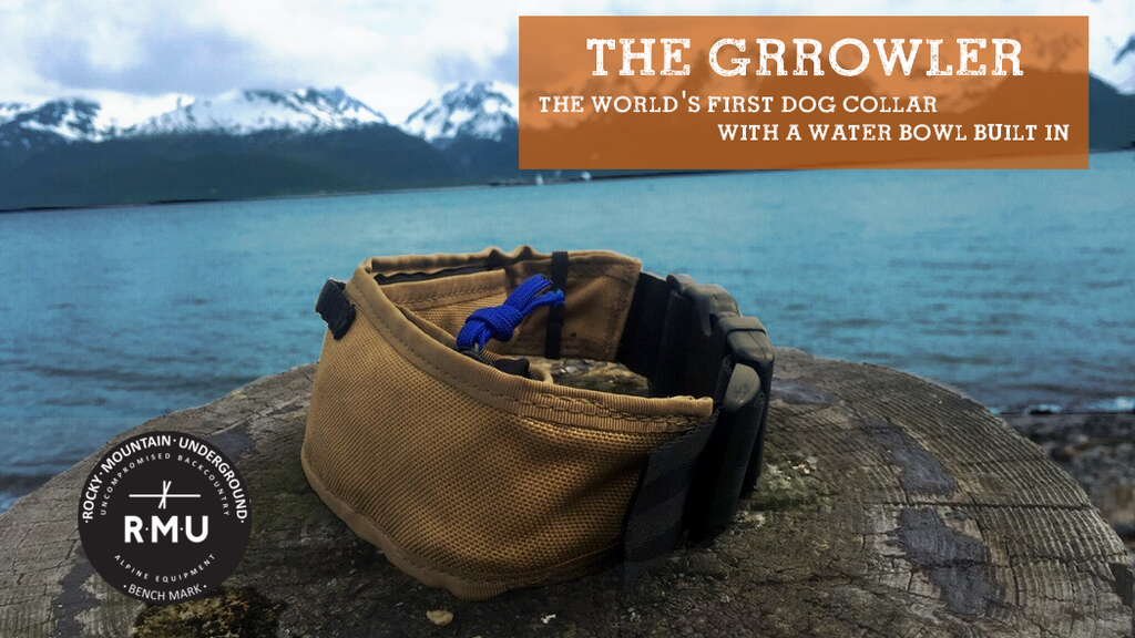 The Grrowler - A dog collar with a water bowl built in. project video thumbnail