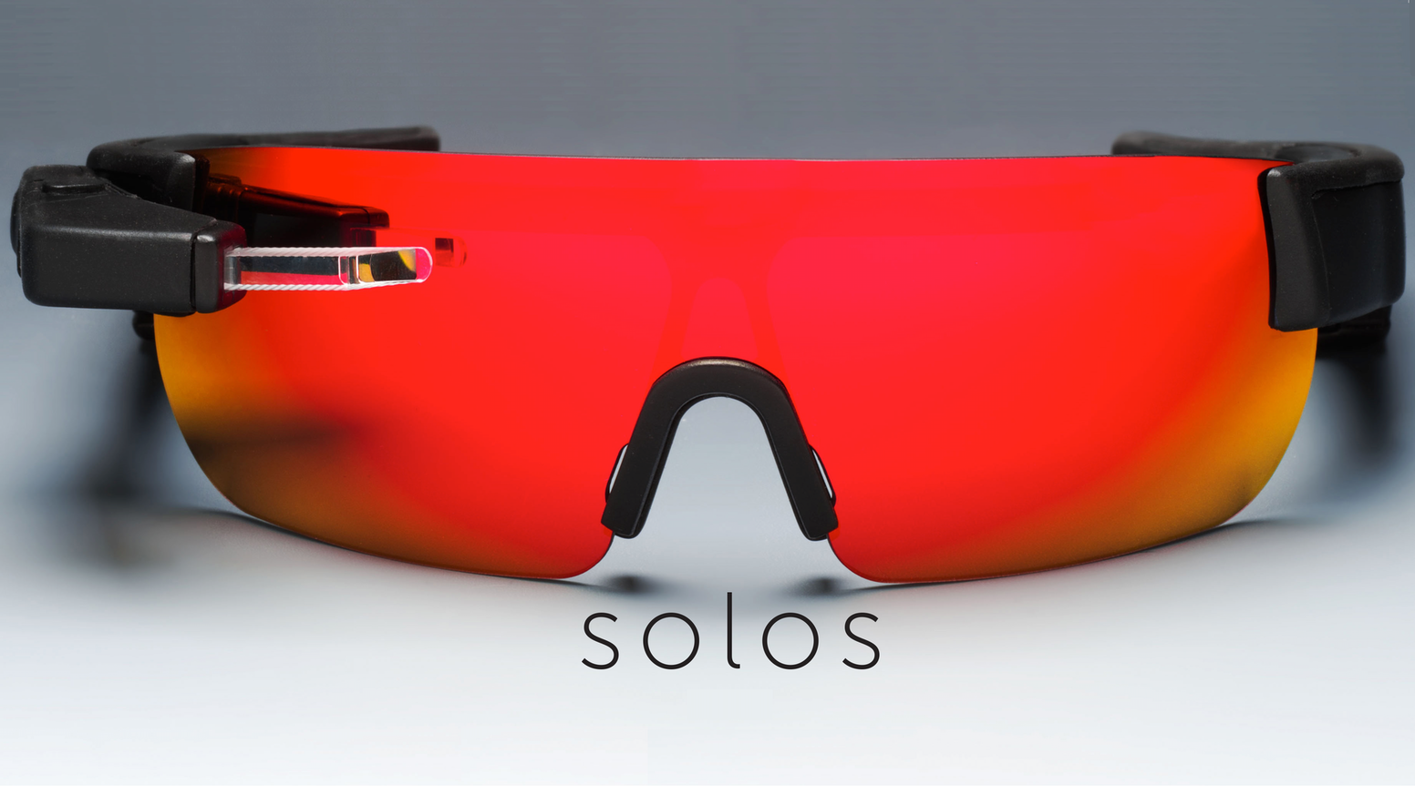 solos smart cycling glasses with heads up micro display by solos