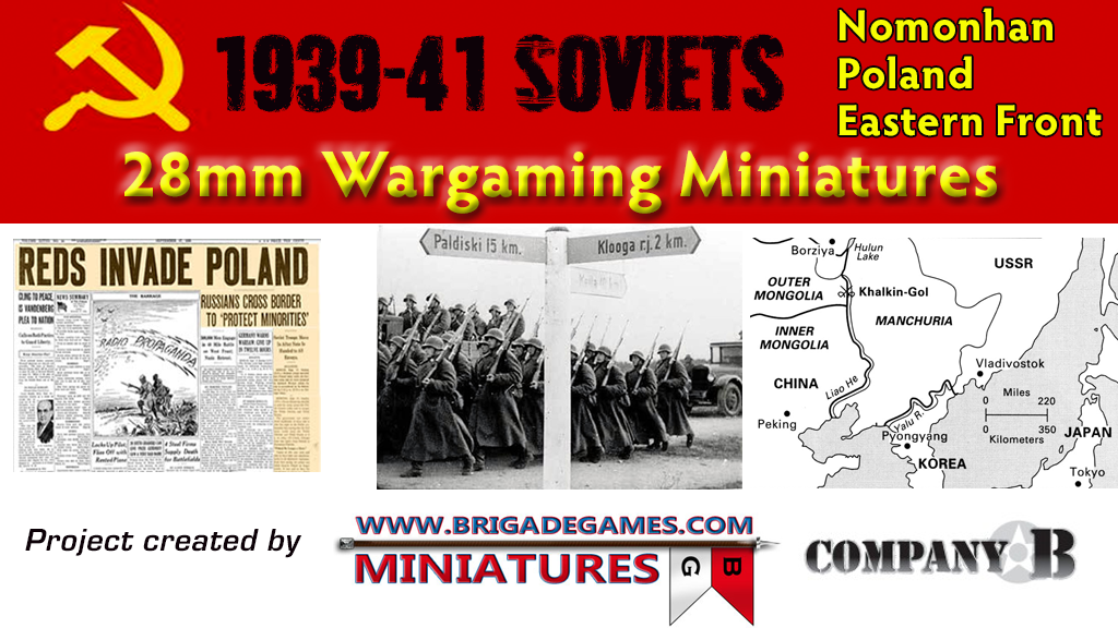 Project image for 28mm 1939-41 Soviets for Nomonhan, Poland & Eastern Front