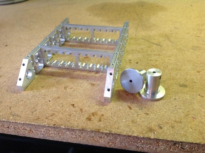 Skeleton frame no top bottom or wedge