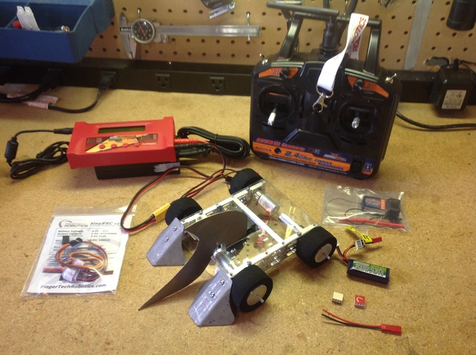 Bot Bash Parties Robot Battle Kits by Zachary Lytle