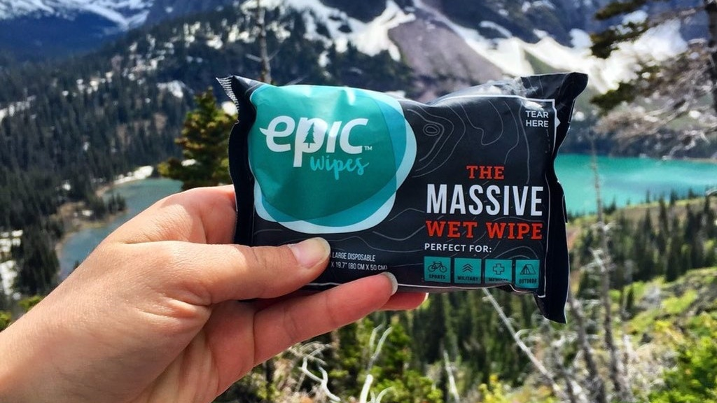 Epic Wipes - The Shower that Fits in Your Pocket project video thumbnail