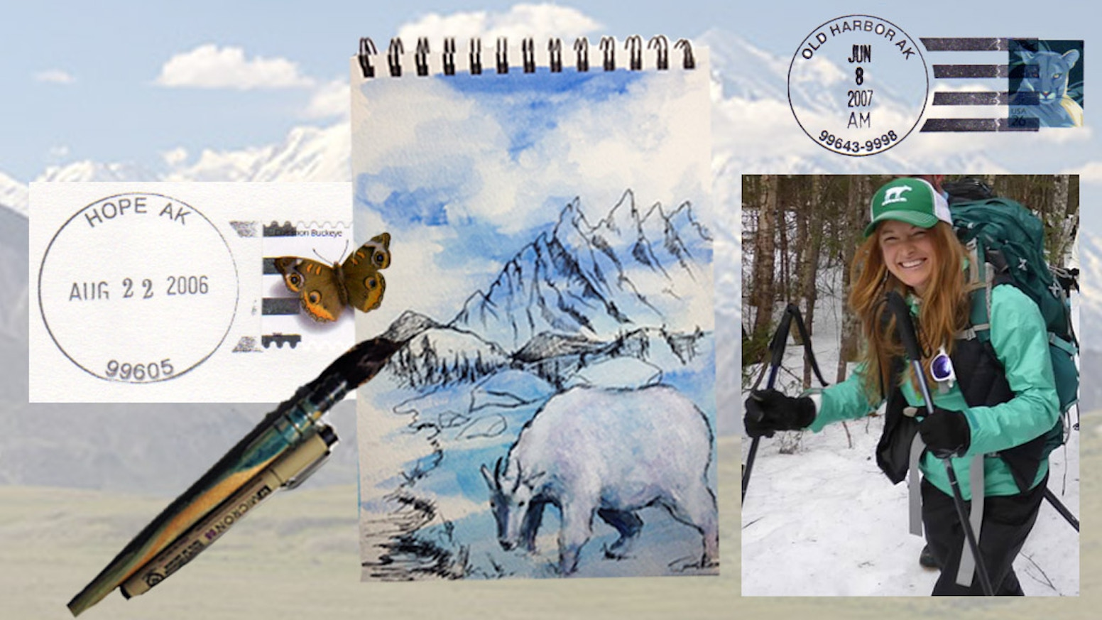 Be a part of my dream exploring Alaska and making art! You'll get an original painting; I'll get to share my passion for nature w/ you!