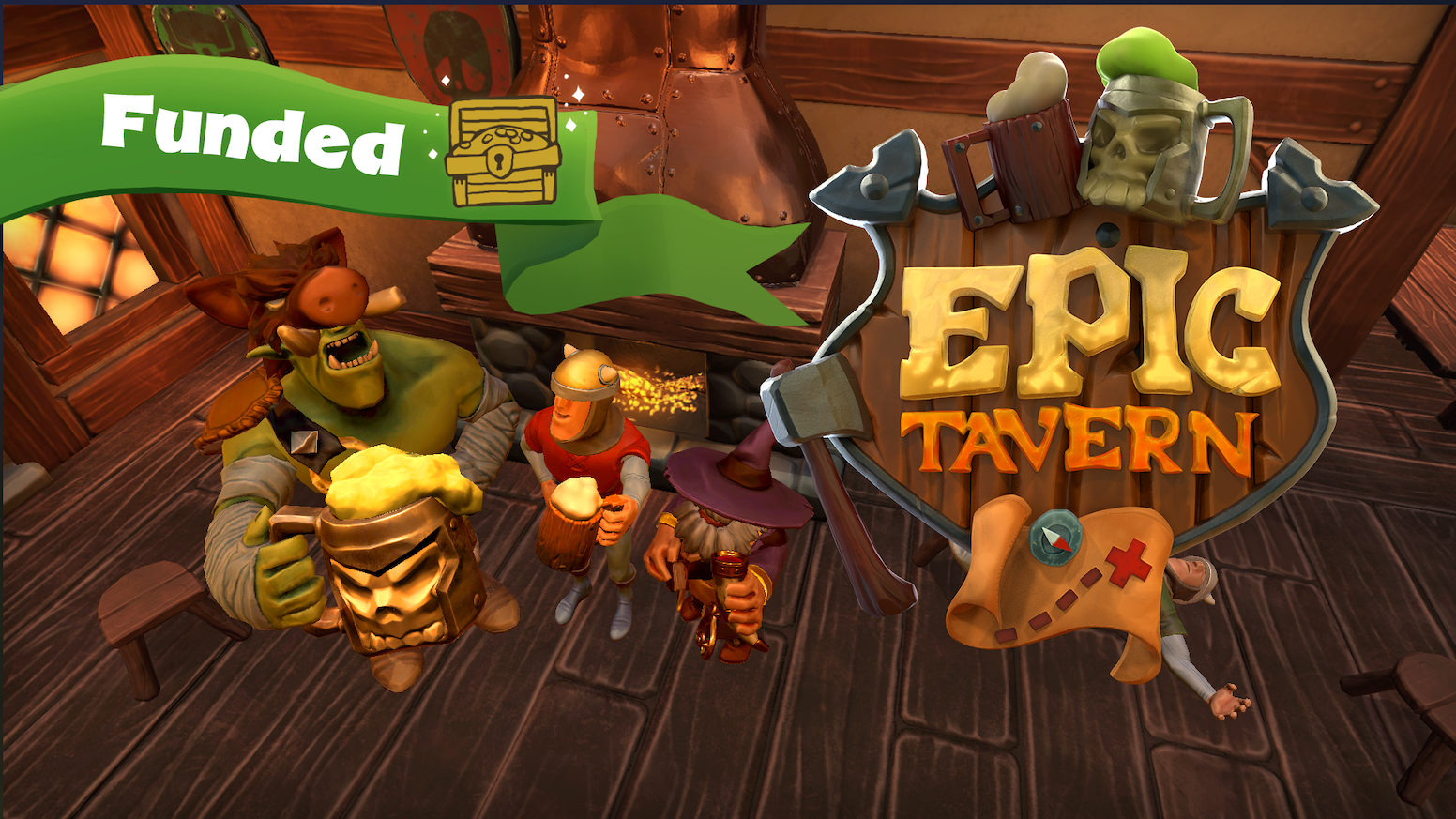 Epic Tavern: The first management-RPG where you rule the land from your Tavern. Recruit heroes, send them on quests, and reap the rewards! Just finding us now? Get Epic Tavern by clicking the button below!!