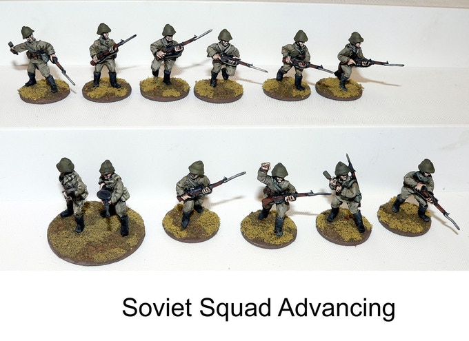 Soviet Squad Advancing