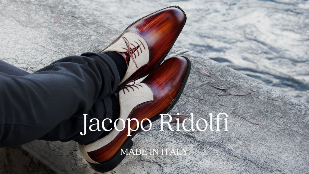 Jacopo Ridolfi   Italian Shoes Handmade & Hand-painted project video thumbnail