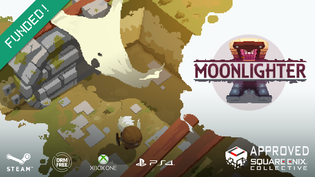 Miniature de la vidéo du projet Moonlighter - ARPG with rogue-lite and shopkeeping elements