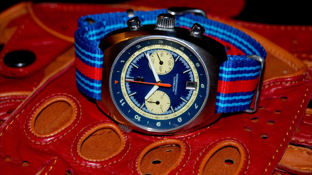 Straton Curve-Chrono watch and Leather driving gloves project video thumbnail