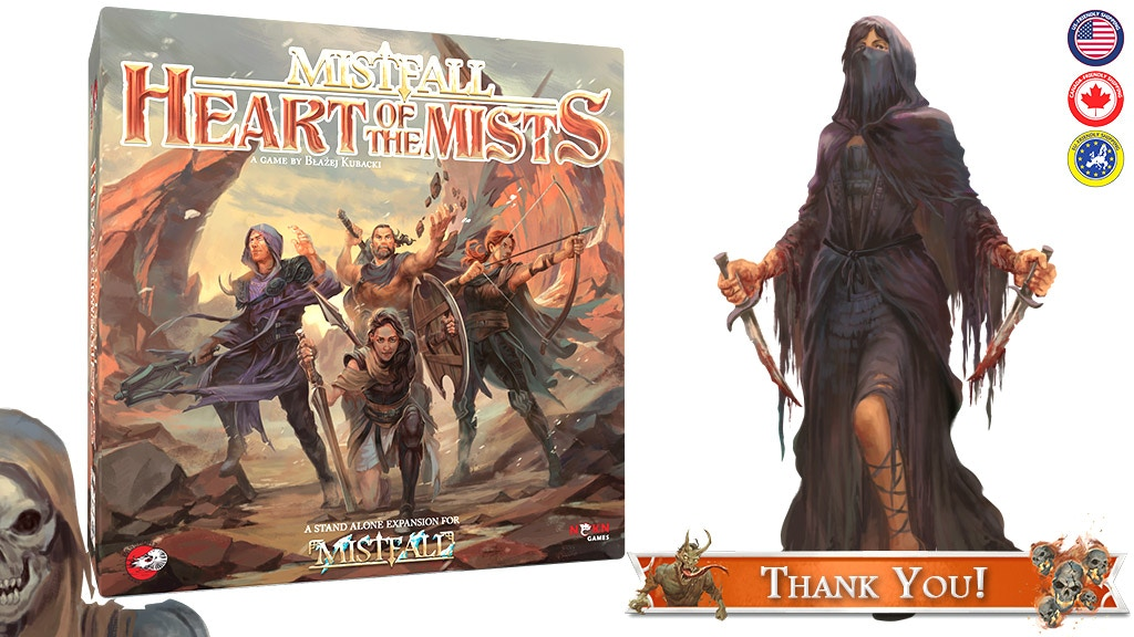 Mistfall: Heart of the Mists - Legendary Adventure Continues project video thumbnail