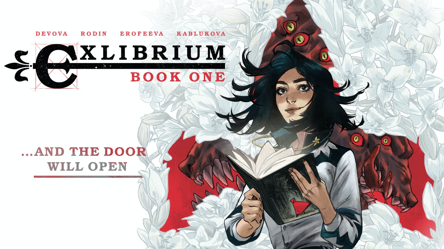 You can now buy Exlibrium: Book One in a few clicks! Start reading one of the most popular and critically acclaimed comic book series in Russia!