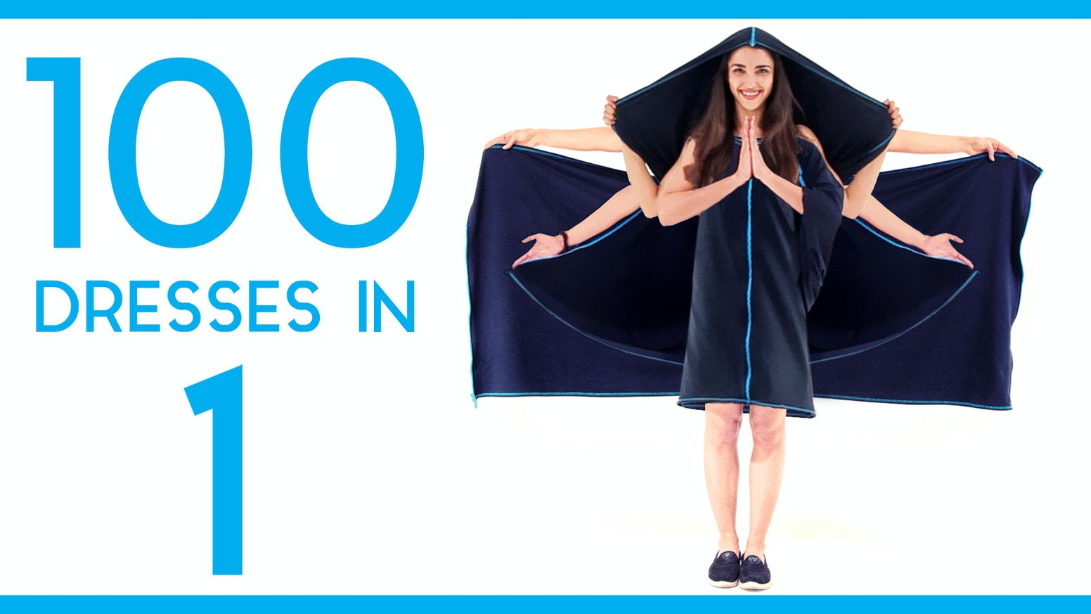 The world's first convertible dress with more than 100 everyday styles in just one dress. Change your style in seconds.
