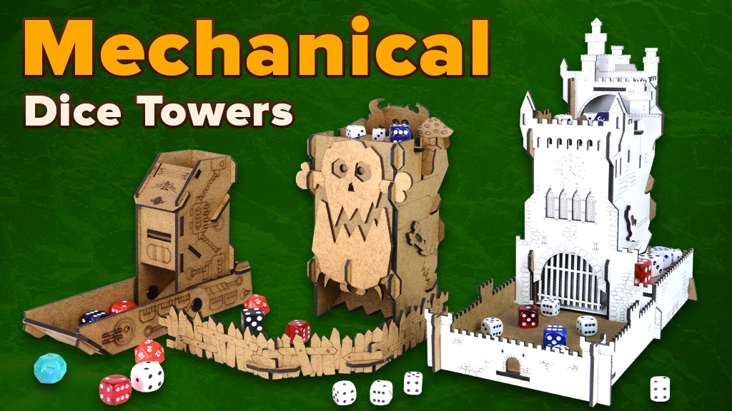Mechanical Dice Towers project video thumbnail