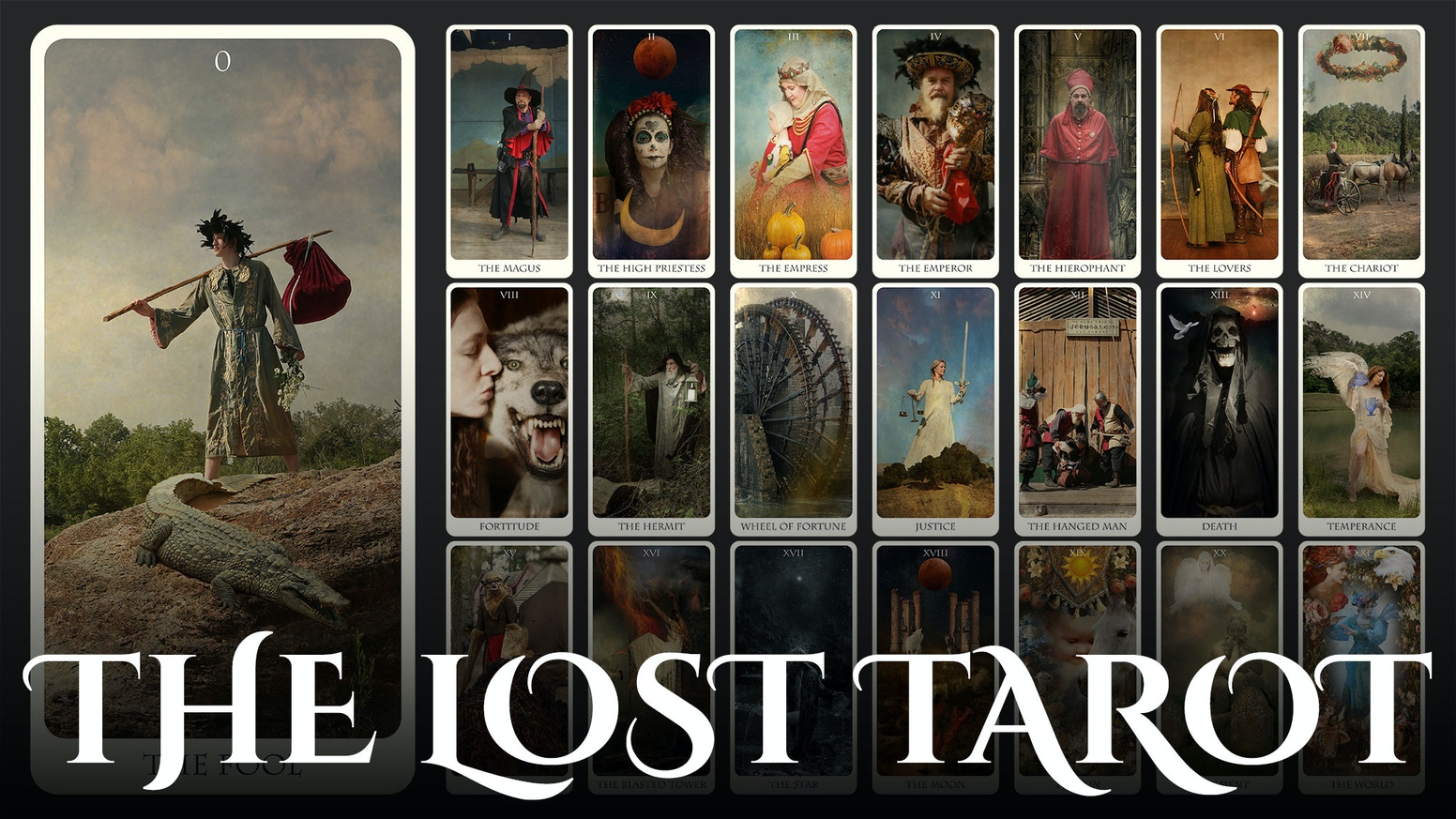 A spiritual tool in the form of a recently discovered Tarot of photo-based medieval imagery, based on a camera designed by da Vinci.
