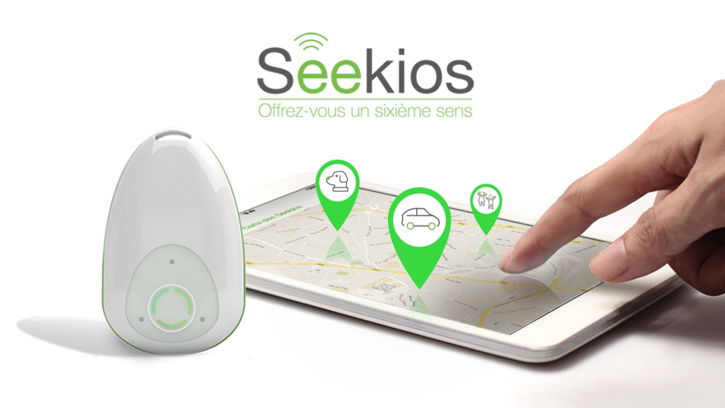 seekios la 1 re vraie balise gps utilisable gratuitement by seekios kickstarter. Black Bedroom Furniture Sets. Home Design Ideas