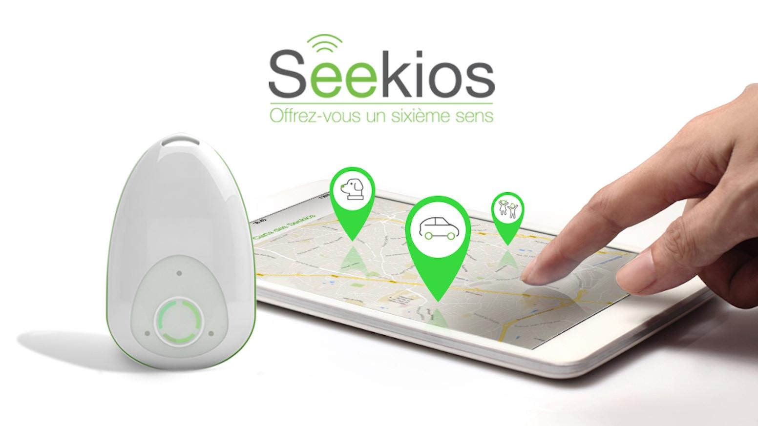 Une solution intelligente de géolocalisation, multi-usages et d'utilisation économique (voir site). Seekios, offrez-vous un sixième sens!