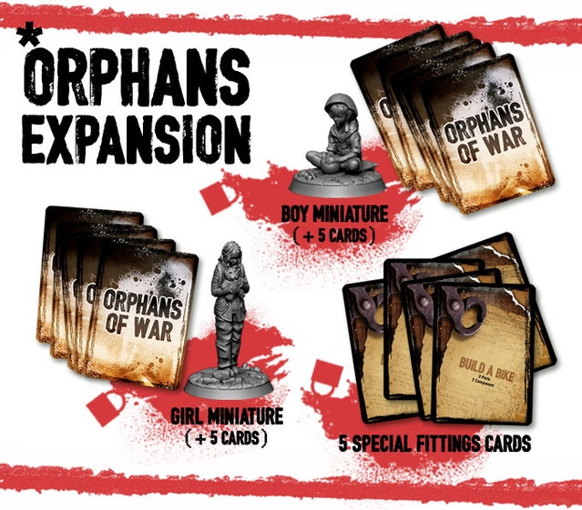 This War Of Mine The Board Game By Awaken Realms Orphans Of War