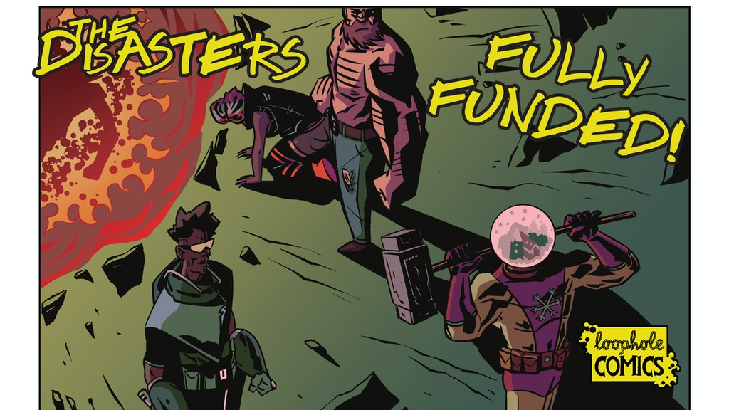 The Disasters #1: D-List Supervillains On The Run project video thumbnail