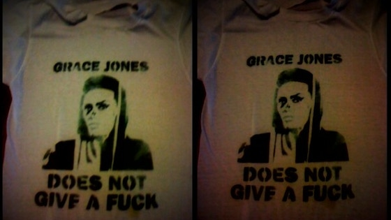 Grace Jones Does Not Give A F$#% T-Shirt (limited Edition)  project video thumbnail