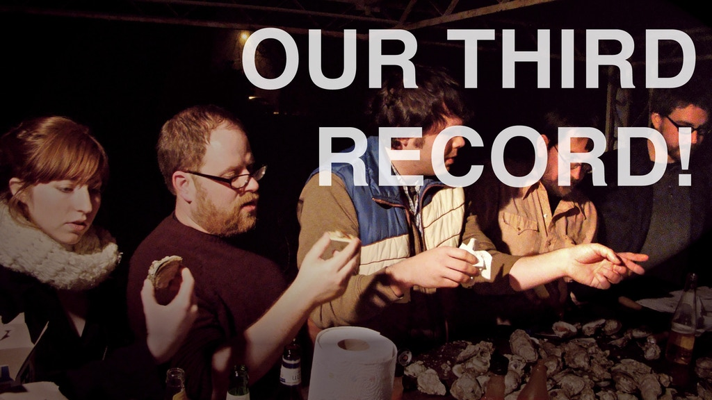 The Georgia Theatre record: Venice is Sinking's third album on vinyl! project video thumbnail