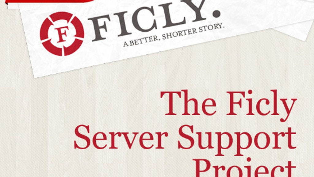 The Ficly Server Support Project project video thumbnail