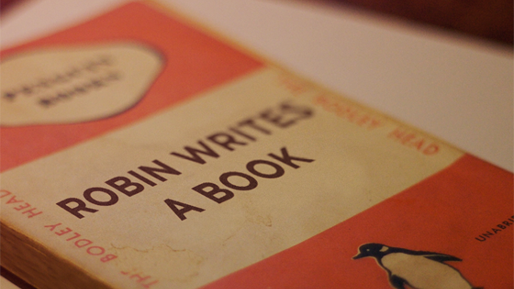 Robin writes a book (and you get a copy) project video thumbnail