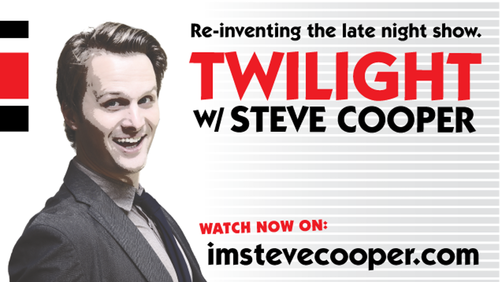 Twilight w/ Steve Cooper: Re-Inventing the talk show. project video thumbnail