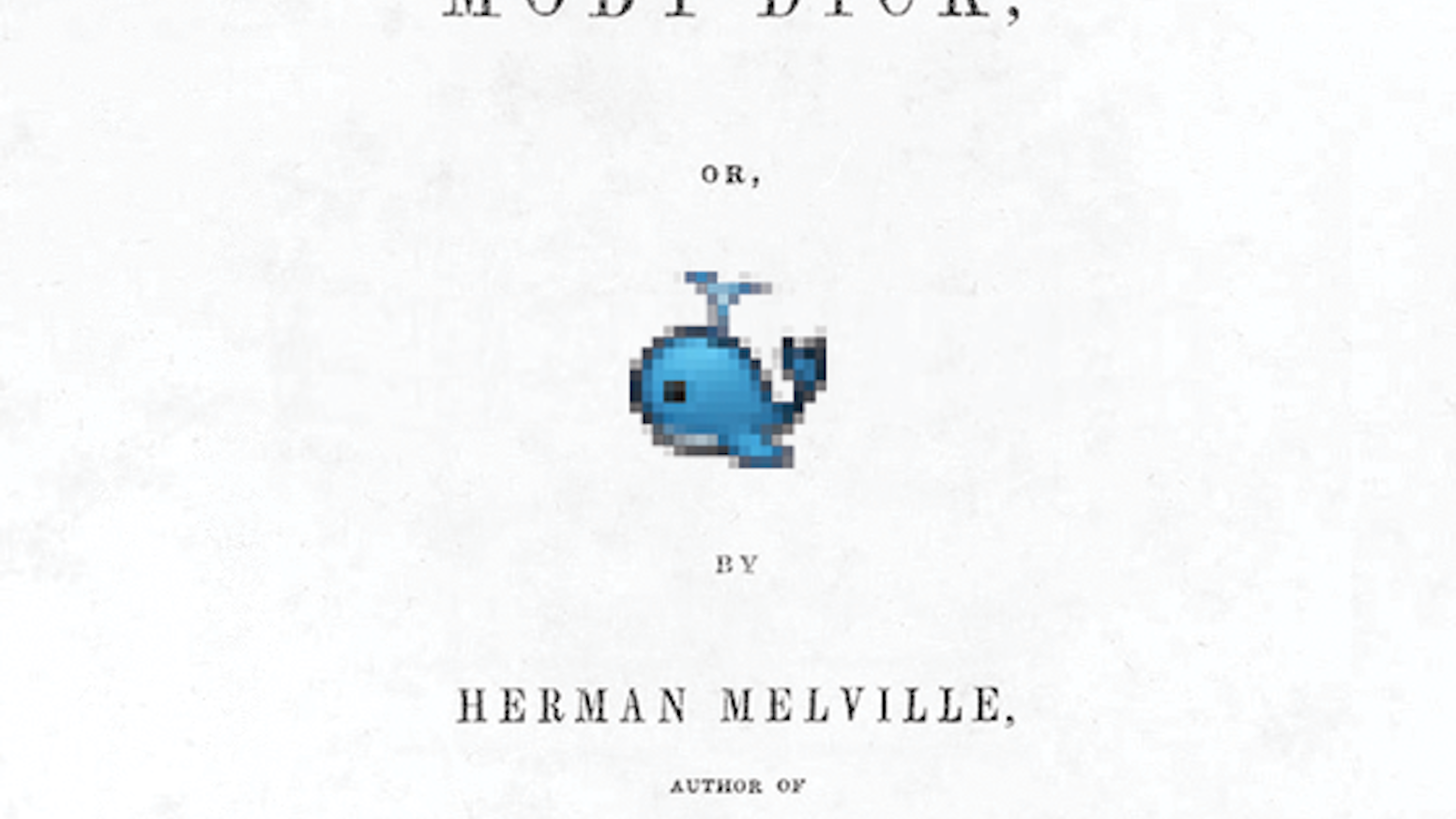Translating Moby Dick into Japanese Emoji Icons using Amazon's Mechanical Turk.