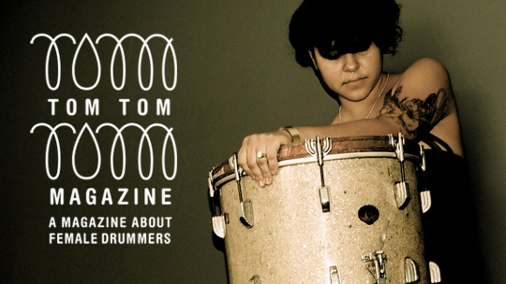 Tom Tom Magazine: A Magazine About Female Drummers ISSUE #4 project video thumbnail