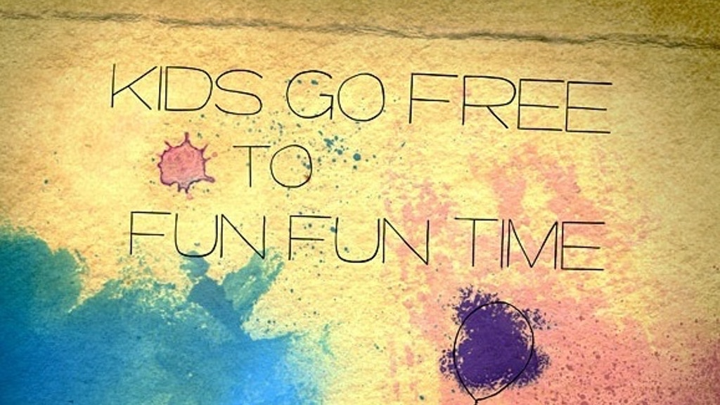 Kids Go Free to Fun Fun Time: a super 16mm feature film project video thumbnail