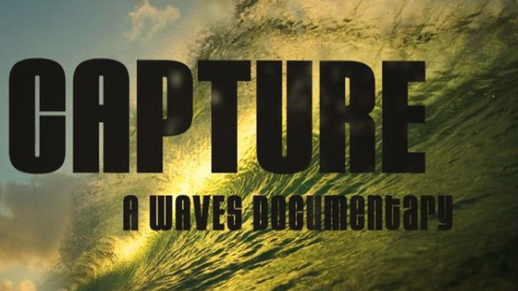 CAPTURE: A WAVES Documentary project video thumbnail