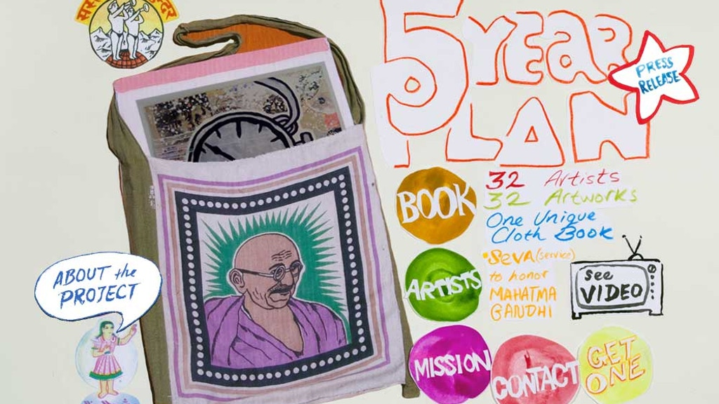 5 Year Plan Artist Book Project  project video thumbnail