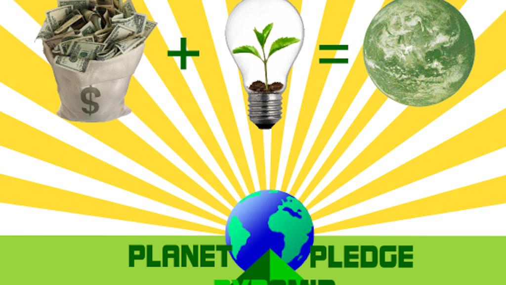 Planet Pledge Pyramid project video thumbnail